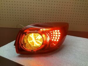 2014 2018 Mazda3 Hatchback Passenger Side Rh Led Tail Light Taillamp Oem Part