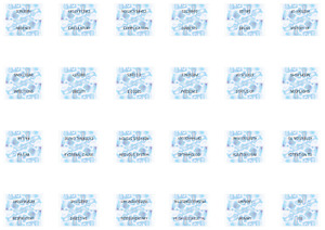 Pre printed Self Adhesive Medical Coding Tabs For Icd 10 cm
