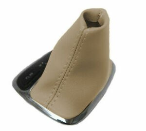 Fits 2001 2009 Mercedes Benz Class Pvc Leather Automatic Shift Boot Cover Beige