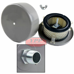 3 4 Compressor Air Intake Filter Silencer Housing Replacement Paper Element New