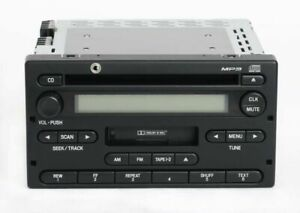 2005 Ford Ranger Truck Am Fm Radio Cassette Cd W Auxiliary Input 4l5t 18c868 Af