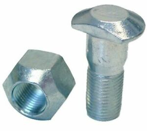 Front Wheel Stud And Nut Assembly Fits Ford Naa Nab Jubilee 600 620 630 660