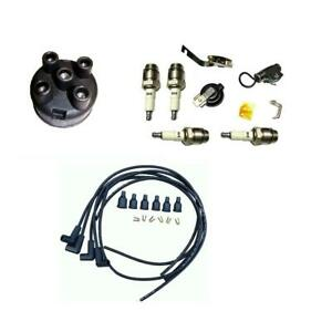 Ih Distributor Ignition Tune Up Kit For Farmall 400 404 424 444 450 3444 Tractor
