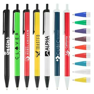 Promotional Pens Custom Printed With Your Company Logo Info Art 500 Qty