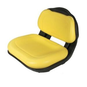B1am136044 Fits Jd Fits John Deere Replacement Yellow Seat Assembly For X304 X32