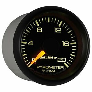 Auto Meter 8345 Chevy Factory Match Electric Pyrometer Gauge Kit