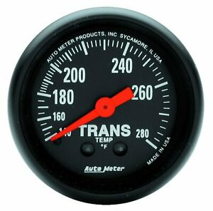 Auto Meter 2615 Z series Mechanical Transmission Temperature Gauge