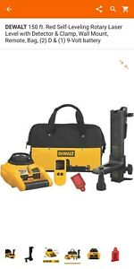 Dewalt Dw074kd 150ft Self Leveling Inter exterior Rotary Laser Kit Free Shipping