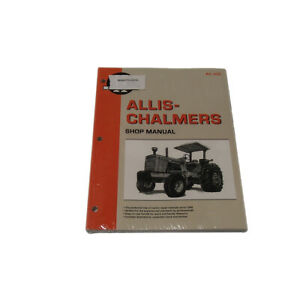 I t Shop Manual For Allis Chalmers 7000 7010 7020 7030 7040 7045 7050 7060 7080