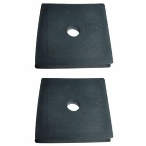 2 Radiator Mounting Pads For Allis Chalmers Tractor B C Wd Wd45 Wc 70202158