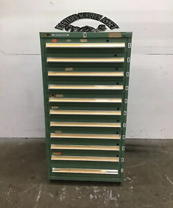 11 drawer Stanley Vidmar Industrial Storage Cabinet