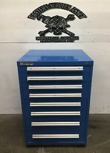 Used 8 drawer Stanley Vidmar Industrial Tool Storage Cabinet