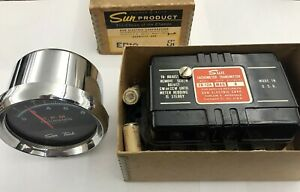 Sun St 502 Tach And Eb 12a Transmitter 8 Cylinder New Old Stock In Box Rare Nos