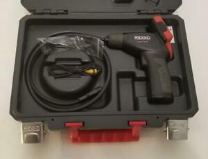 Rigid Ca 25 Hand held Inspection Camera W instructions Dvd