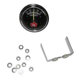 Amp Gauge Chrome Ring 1603189sm For Simplicity For Baron Landlord Mower
