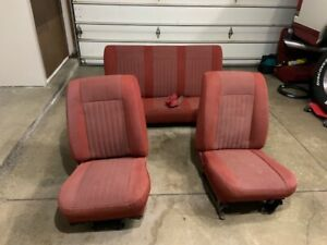 Ford Bronco Bucket Seats Low Back And Bench Seat