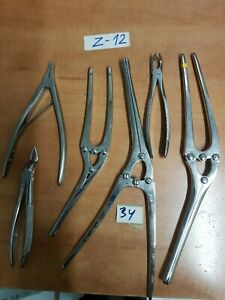 Orthopaedic And Other Medical surgical Instruments Lot Of 6