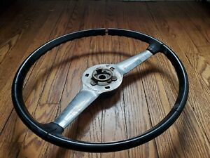 Fiat 850 Steering Wheel Coupe Spider Berlina Series 1 Sport Special Black