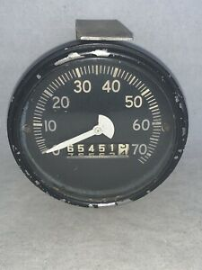 Vintage Speedometer Jeep Ford Willys Army Military K s 40904 A n King seeley