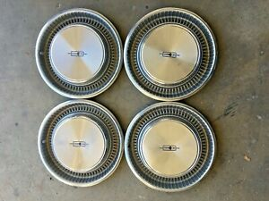 Oldsmobile 1971 1972 15 Inch Hubcap Wheel Covers Set Of 4 Oem 2