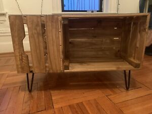 Handmade Wooden Crate Coffee Table