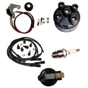 Electronic Ignition Tune Up Kit For Ih Farmall 300 330 340 350 400 424 444