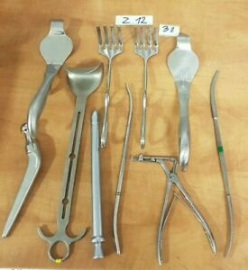 Mixed Lot Of 10 Medical surgical Instruments