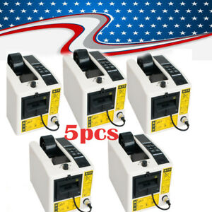 5sets automatic Tape Dispensers Adhesive Tape Cutter Packaging Packing Machine