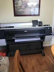 Epson Stylus Pro 9900 44 Large Format Printer Very Good Condition Clean