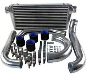 Front Mount Intercooler Fmic Kit For 93 02 Toyota Supra Mk4 Jza80 2jz gte 3 0 Tt