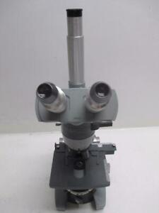 American Optical Ao Spencer Microscope With 4x 10x 45x 100x Objectives