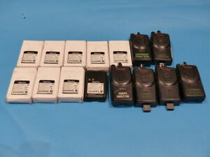 Lot Of 6 Mag One Two Way Radio W 9 Mag One 7 2 V Nickel Battery