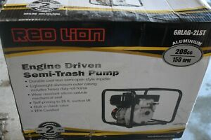 Brand New Red Lion 6rlag 2lst 150 Gpm 2 Semi trash Water Pump Free Shipping