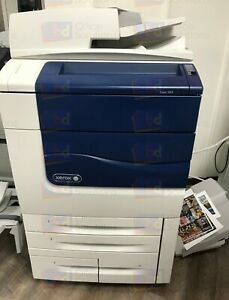 Xerox Color 560 Laser Production Printer Copier Scanner Fiery Catch Tray 550 570