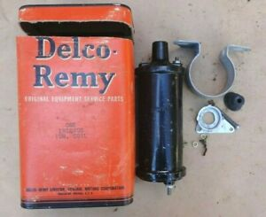 Nos 1941 1946 Chevy Ignition Coil Kit Original Delco Remy Gm Fleetline Truck