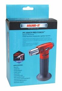 Hand Held Electronic Ignition Micro Torch