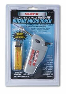 Heavy Duty Micro jet Torch With Extended Flame Nozzle