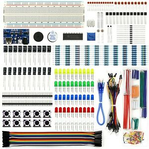 Rexqualis Electronics Component Fun Kit W power Supply Module Jumper Wire 8