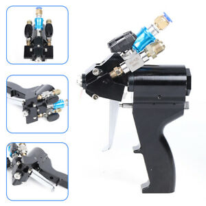 Polyurethane Foam Spray Gun Pipe Joint Angle Self Cleaning With Air 0 2 0 12mpa