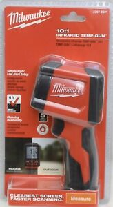 Milwaukee 2267 20h Digital Lcd 10 1 Infrared Thermometer Temperature Gun Sealed