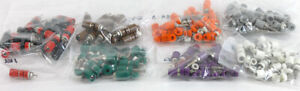 Pomona 2439 x Insulated Miniature Binding Post 101 Pcs Various Colors Lot
