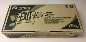 Lithonia Lighting Contractor Select Led Exit unit Combo Ecrledm6 Emergency Light