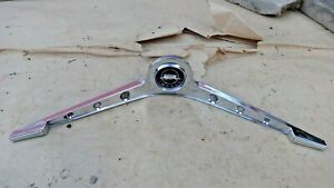 1962 Chevy Impala Horn Button Emblem Bar Original Gm