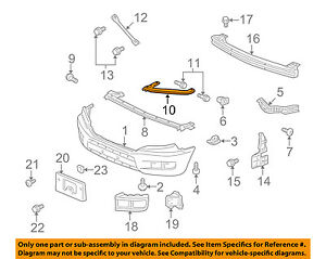 Honda Oem 09 14 Ridgeline Front Bumper corner Support Right 71143sjca01