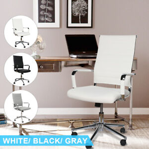 Office Gaming Chair Leather Pu High back Adjustable Computer Seat Executive