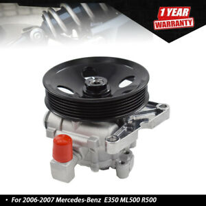 Power Steering Pump For Mercedes benz E350 E550 Ml500 R500 With Pulley Us