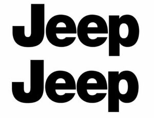Jeep 2 To 3 Tall Buy 1 Get 2 Vinyl Decal Car Window Laptop Sticker