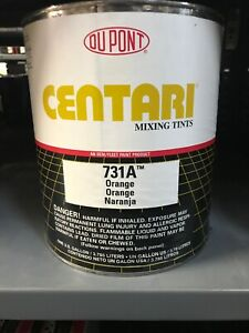 Dupont Centari 731a Orange Paint Gallon