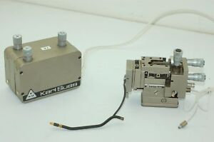 Karl Suss Ph400 Micropositioner X y z Controller For Manual Submicron Probeheadc