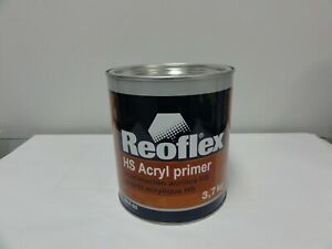 Lacquer Primer 1k Reoflex Acryl Primer Surfacer Gallon Grey Like Evercoat 2274